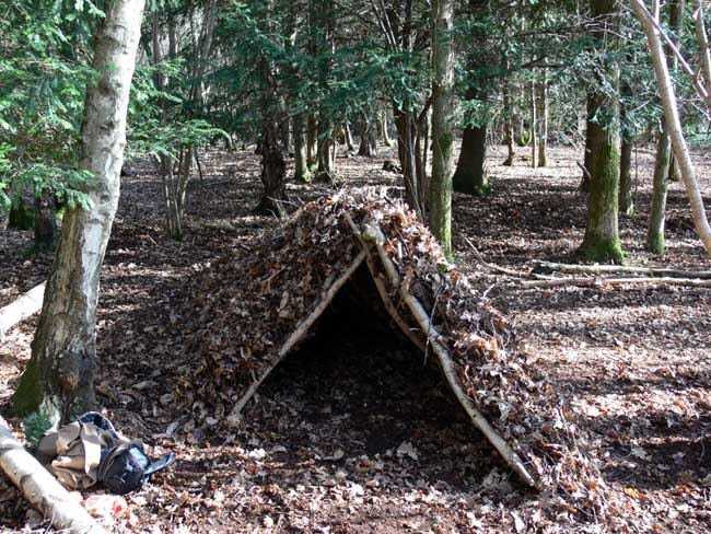 Expert's Guide to Building Natural Survival Shelters - Gear Patrol
